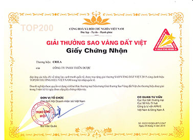 Vietnam Gold Star Award 2015